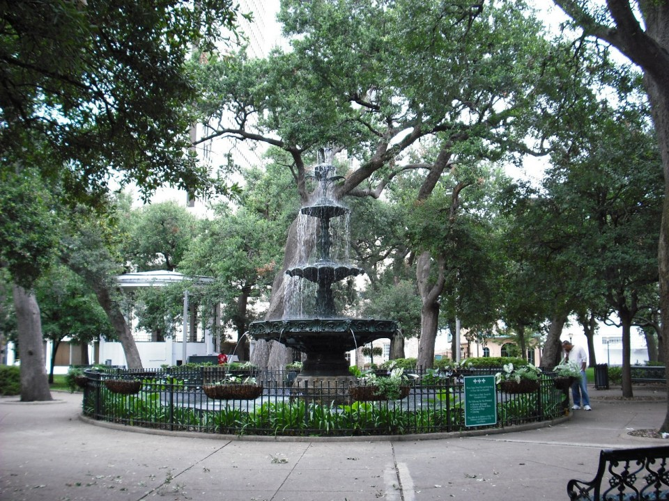 Bienville Square Fountain in Mobile